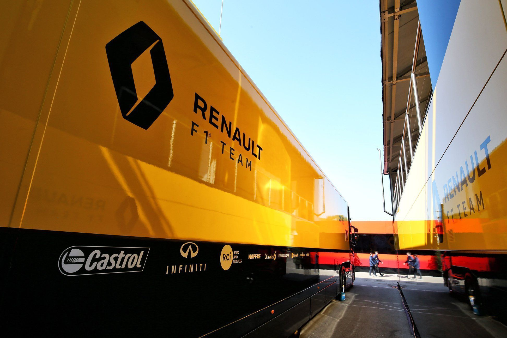 Renault F1 truck, Hungary