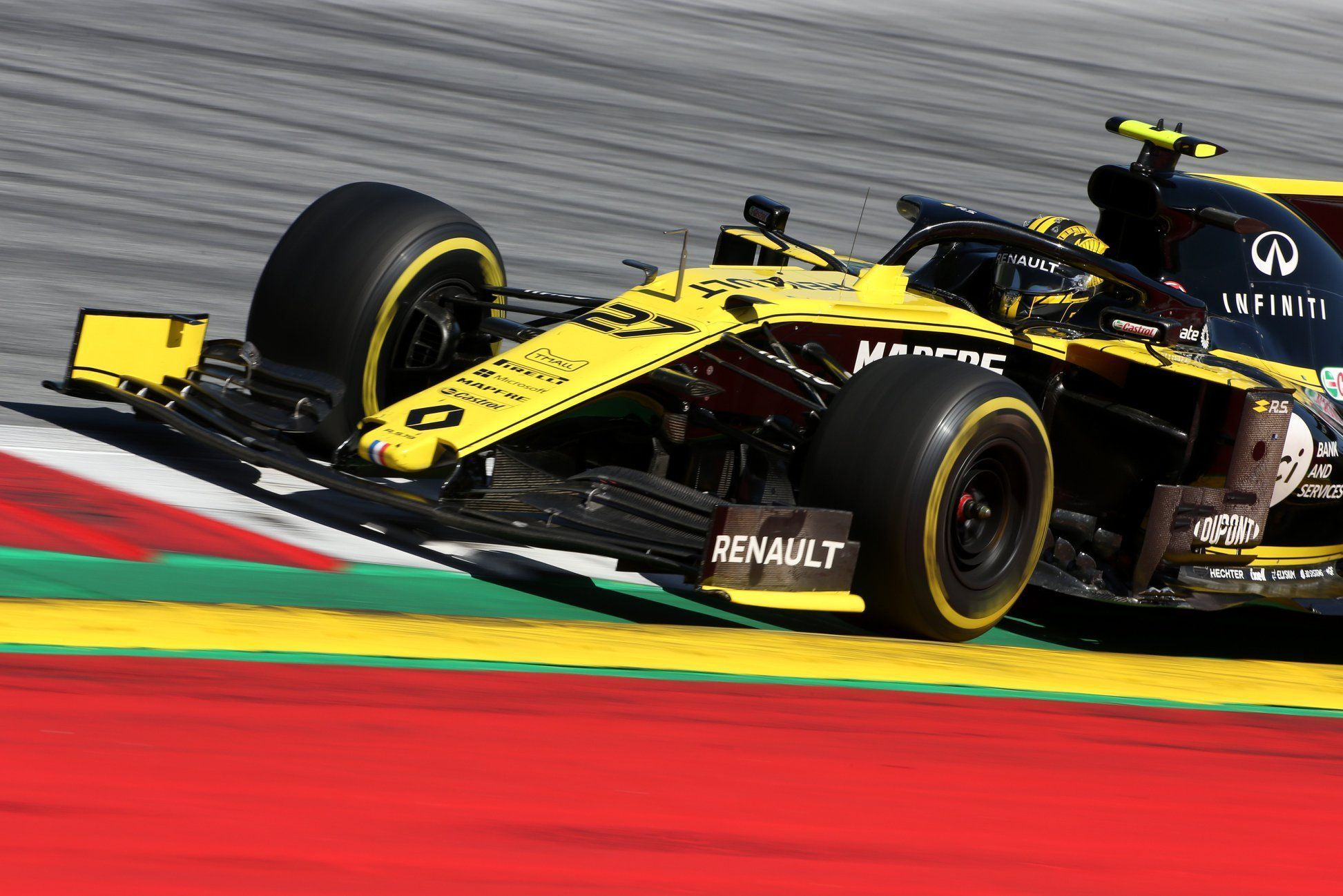 Renault, Mexico GP F1 tyre choice