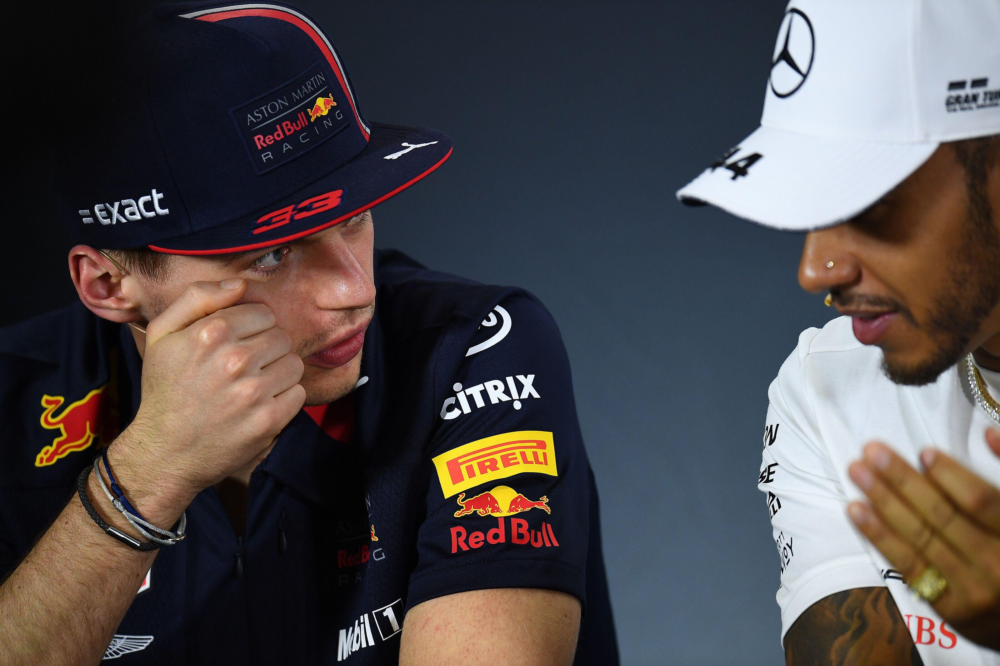 Lewis Hamilton, Max Verstappen, F1