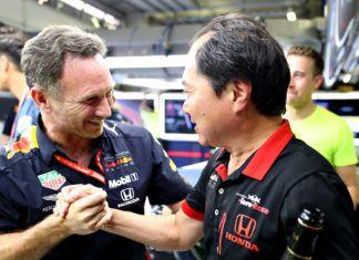 Honda, Christian Horner, Red Bull