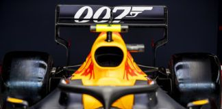 Red Bull, Aston Martin, James Bond 007, F1