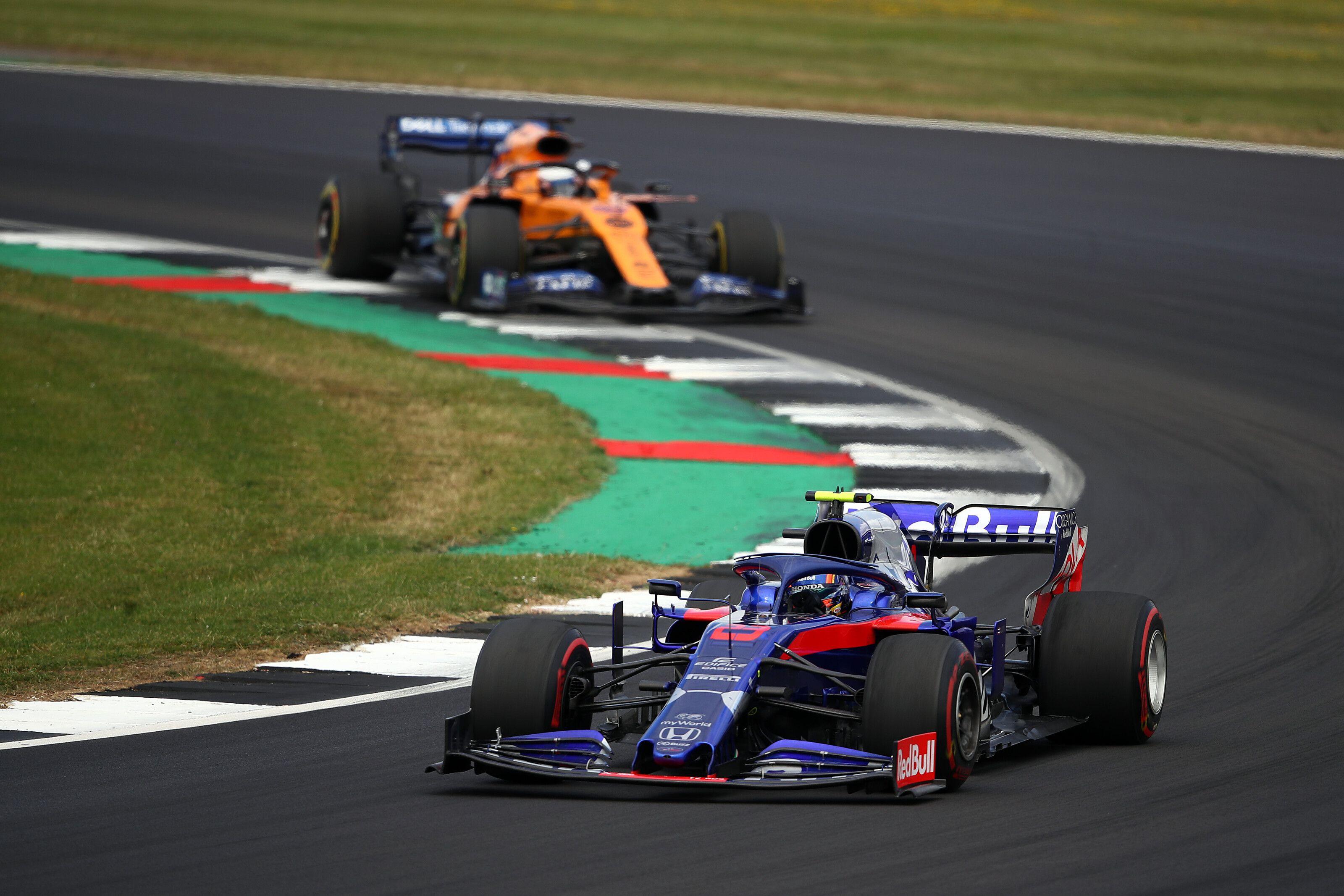 Alexander Albon, Toro Rosso, Honda, British GP