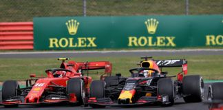 Max Verstappen, Charles Leclerc, F1 British GP
