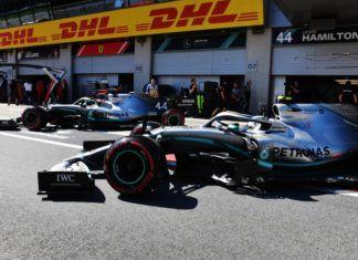 Vlatteri Bottas, Lewis Hamilton, Mercedes, F1