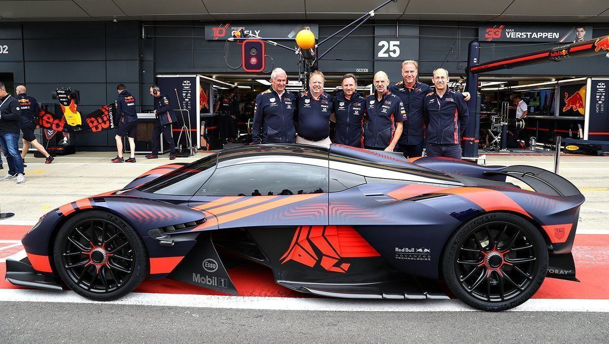 Photos Red Bull Aston Martin Valkyrie Makes Public Debut At Silverstone