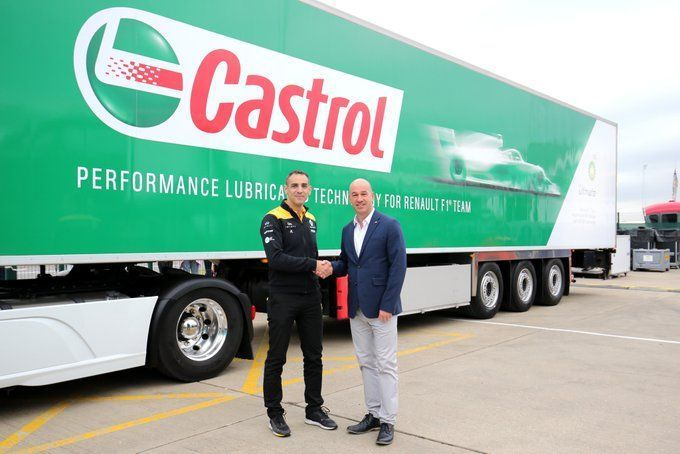 Renault, BP and Castrol, F1
