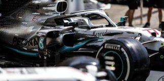 German GP, Mercedes F1
