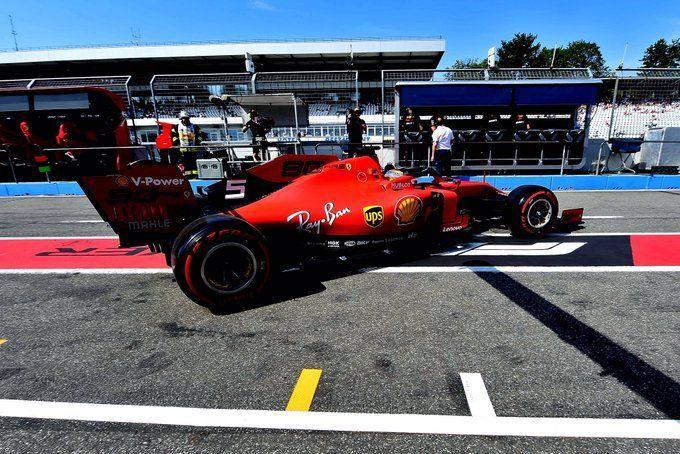 Sebastian Vettel, Ferrari, German GP