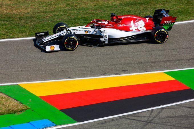 Kimi Raikkonen, Romain Grosjean, German GP, F1, Daniel Ricciardo, Lando Norris
