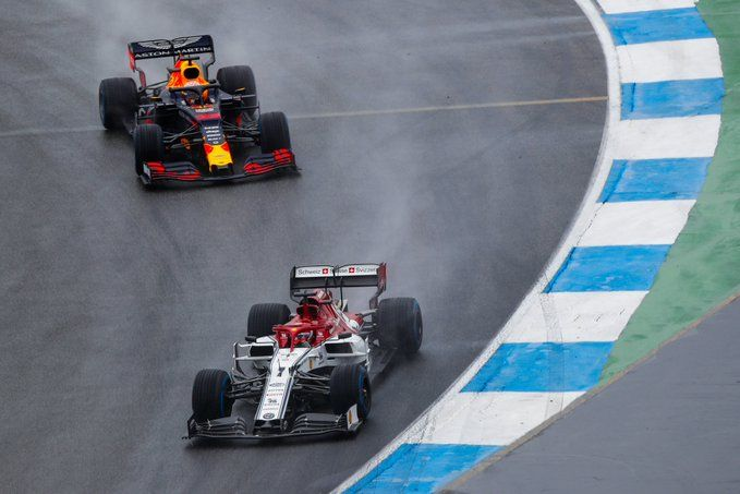 Alfa Romeo, Lewis Hamilton, Robert Kubica, F1, German GP