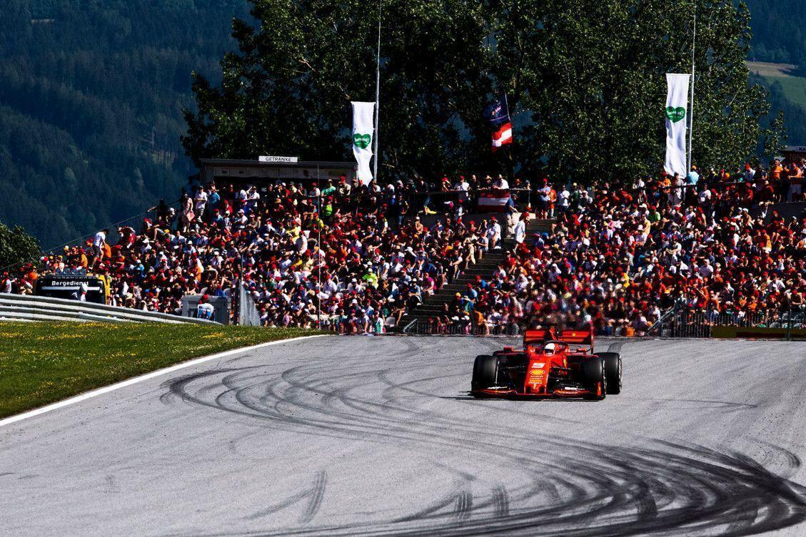Sebastian Vettel, Ferrari, F1, Austrian GP