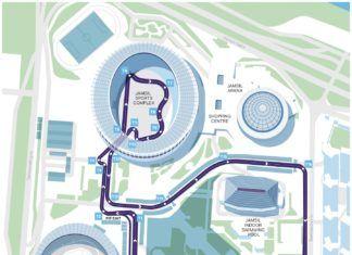 Seoul EPrix, Formula E track layout