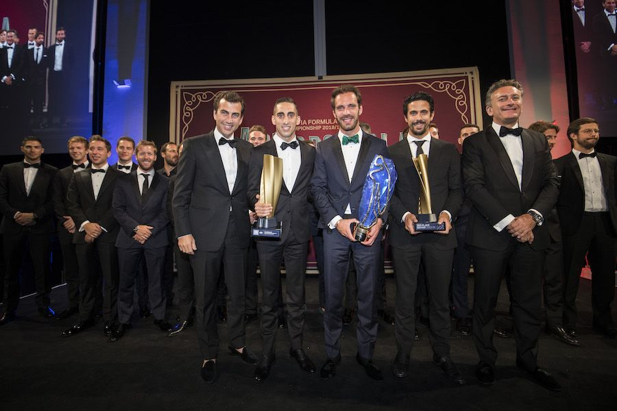 Top 3 Formula E drivers getting awarded, Jean-Eric Vergne