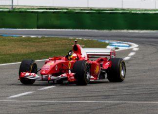 Mick Schumacher, Ferrari F2004, F1