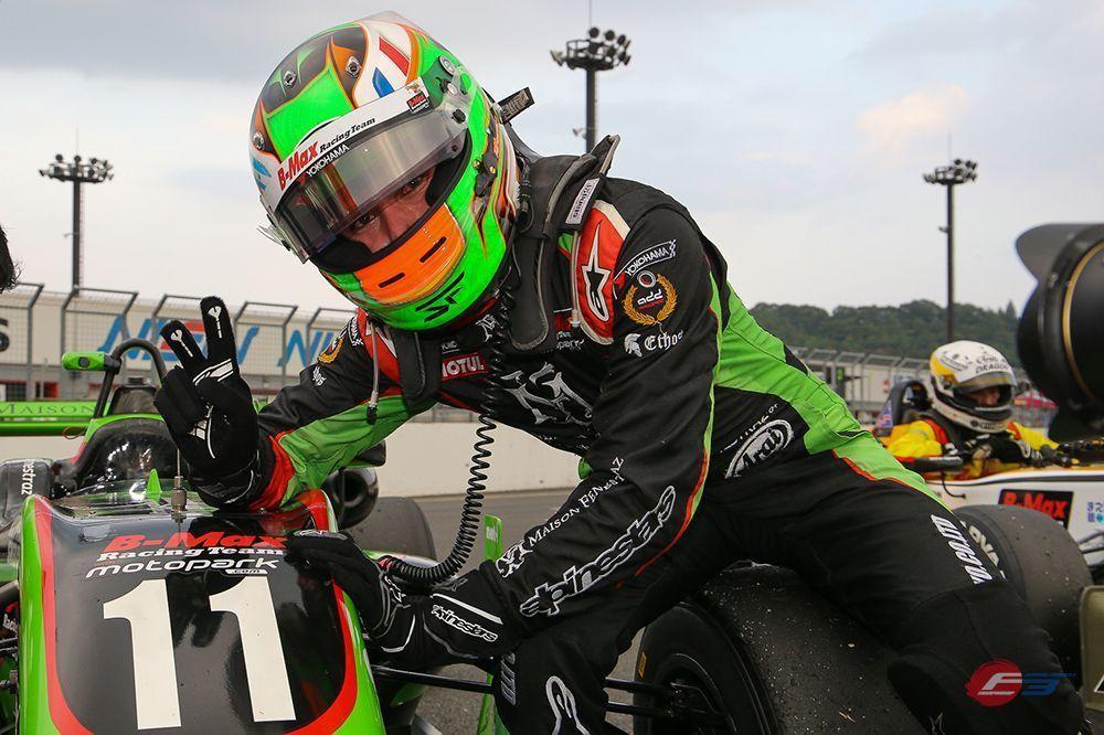 Sacha Fenestraz, Japanese F3