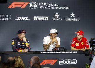 Lewis Hamilton, Max Verstappen, Sebastian Vettel, F1