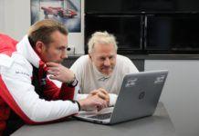 Jacques Villeneuve, Porsche Carrera Scandinavia