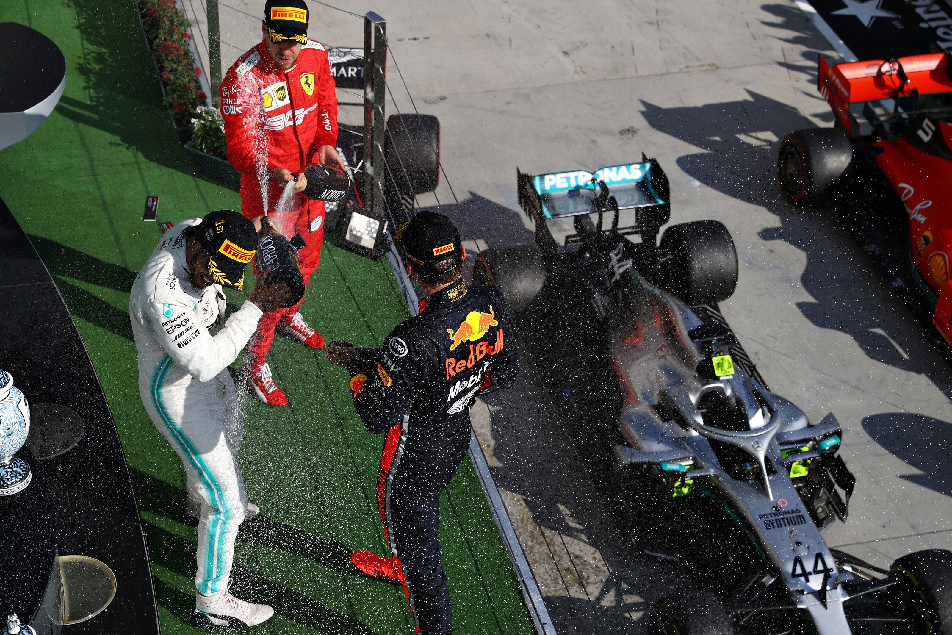 Lewis Hamilton, Max Verstappen, Sebastian Vettel, F1, Hungarian GP