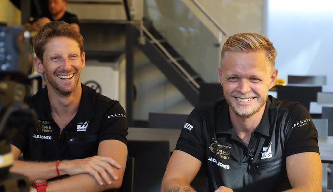 Kevin Magnussen, Romain Grosjean, F1, Haas