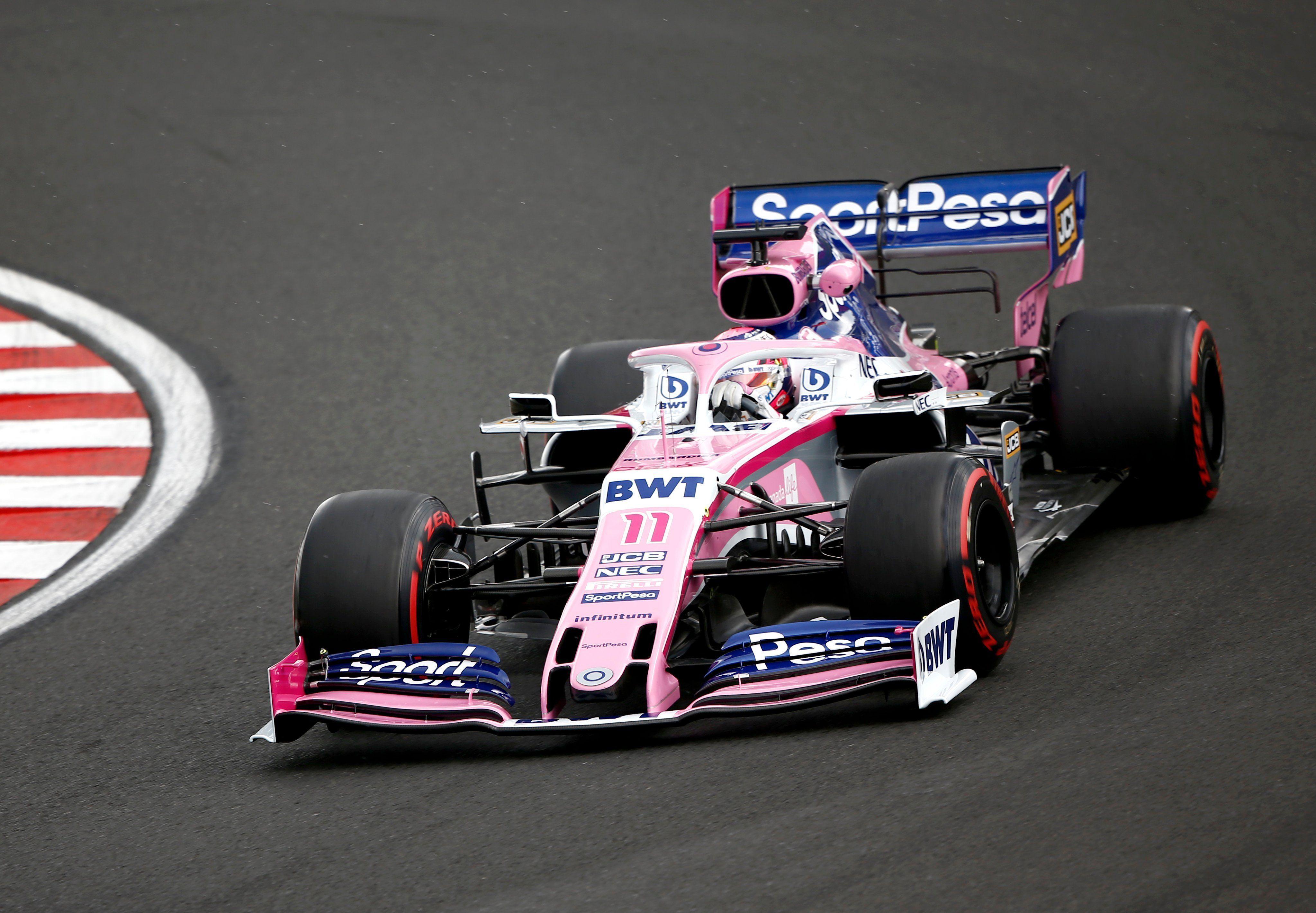 SportPesa, Racing Point, F1