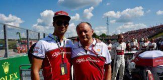 Juan Manuel Correa, Alfa Romeo, F1, F2
