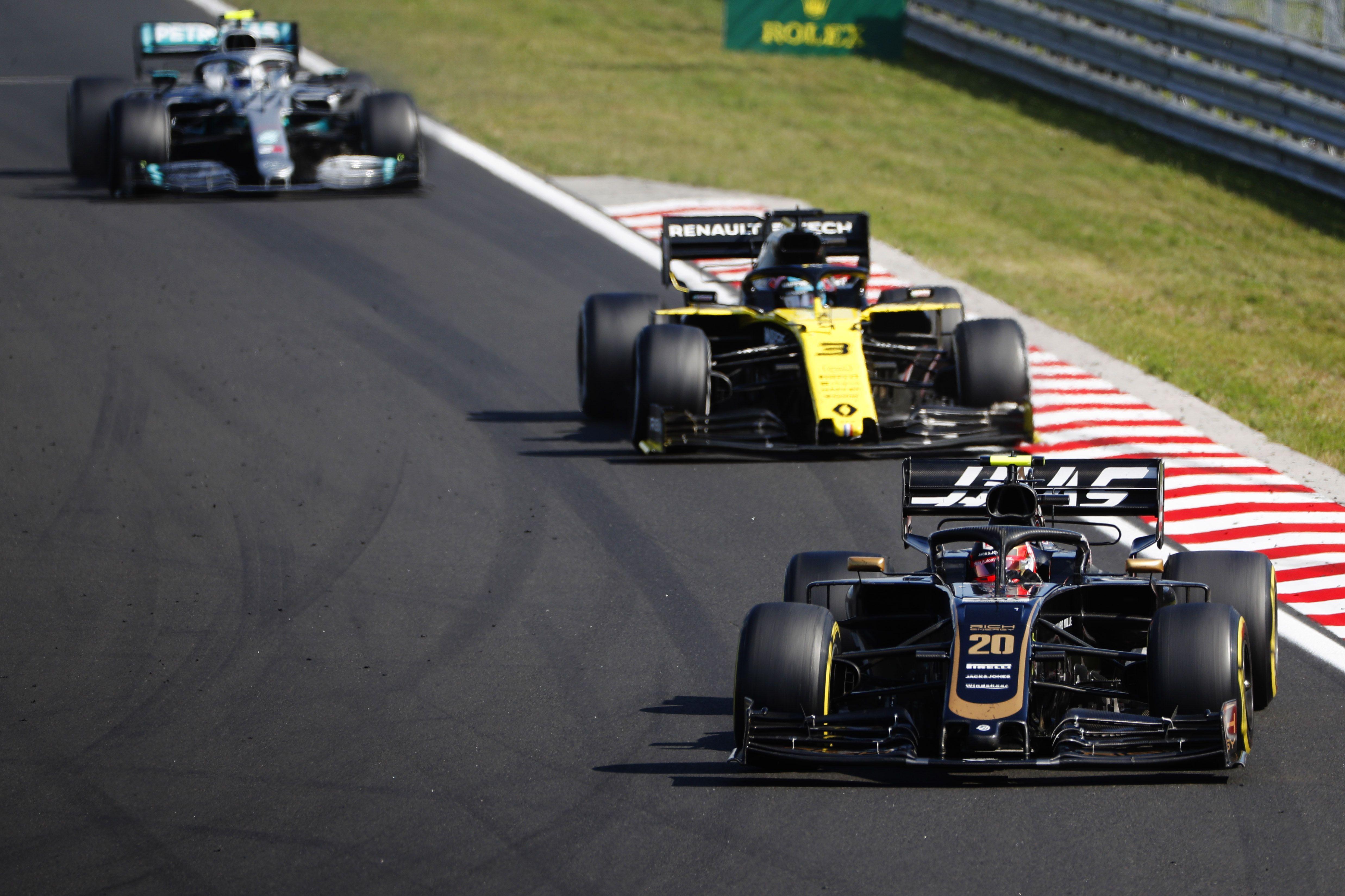 Kevin Magnussen, Romain Grosjean, F1, Hungarian GP