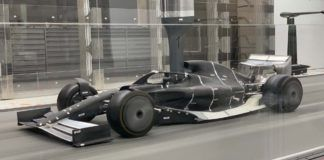 F1 2021, windtunnel
