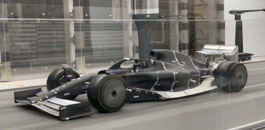 F1 2021, windtunnel