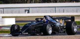 Richie Stanway tests S5000 car, Rubens Barrichello
