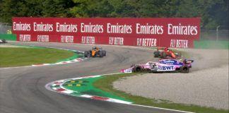 Sebastian Vettel, Lance Stroll, F1, Italian GP