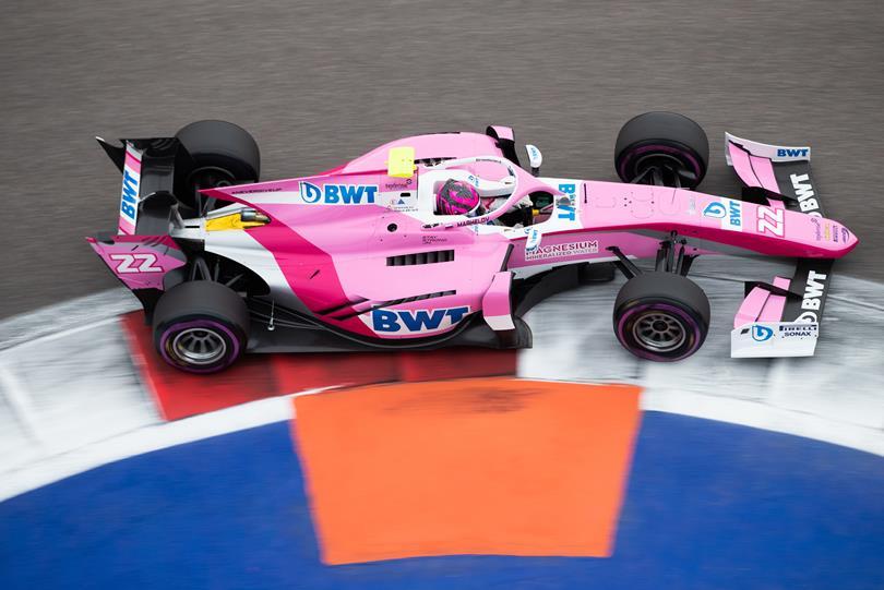 BWT Arden, F2, HWA Racelab