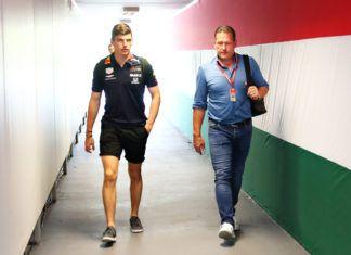 Jos Verstappen, Max Verstappen, F1