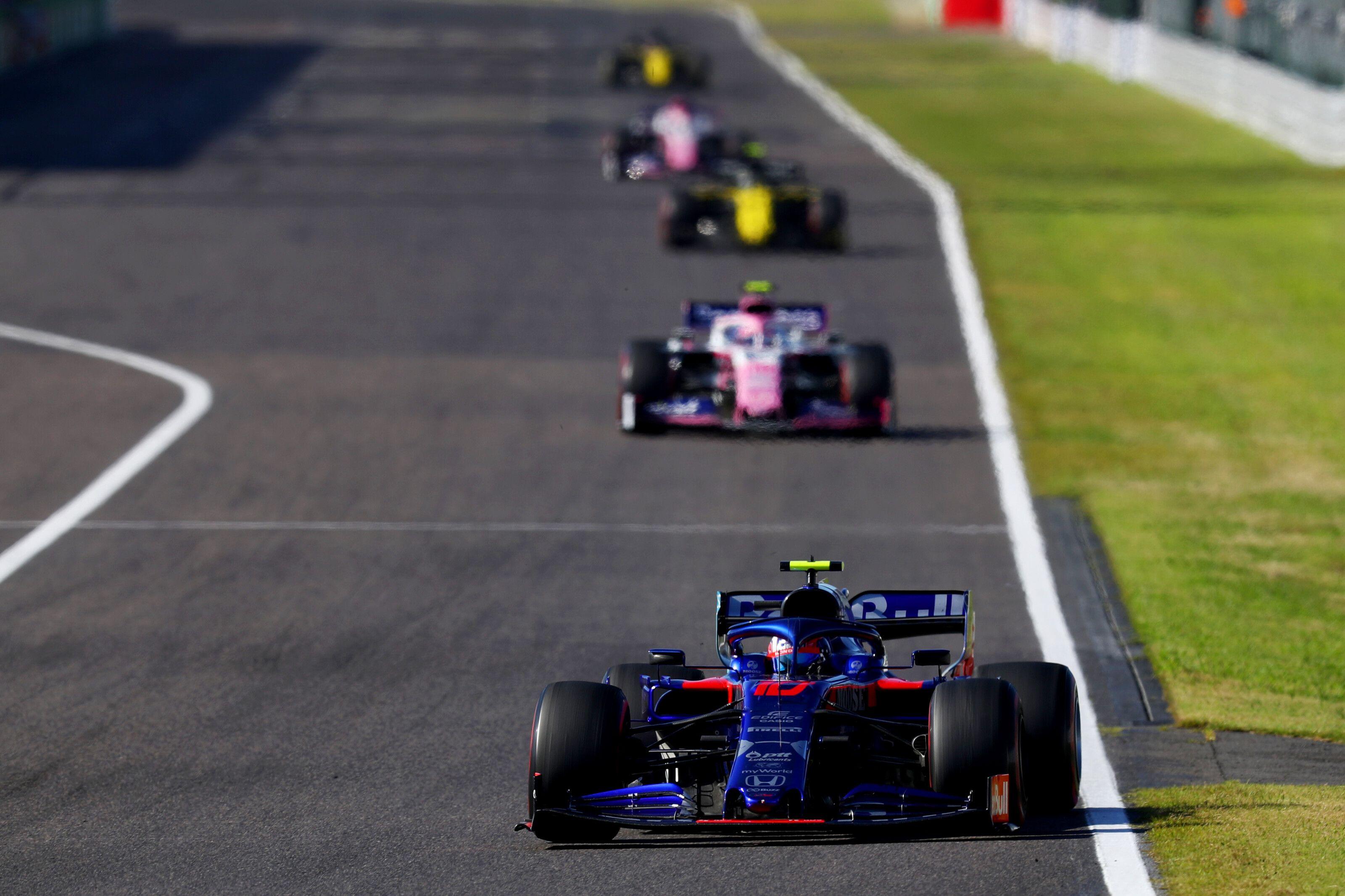 Pierre Gasly, Sergio Perez