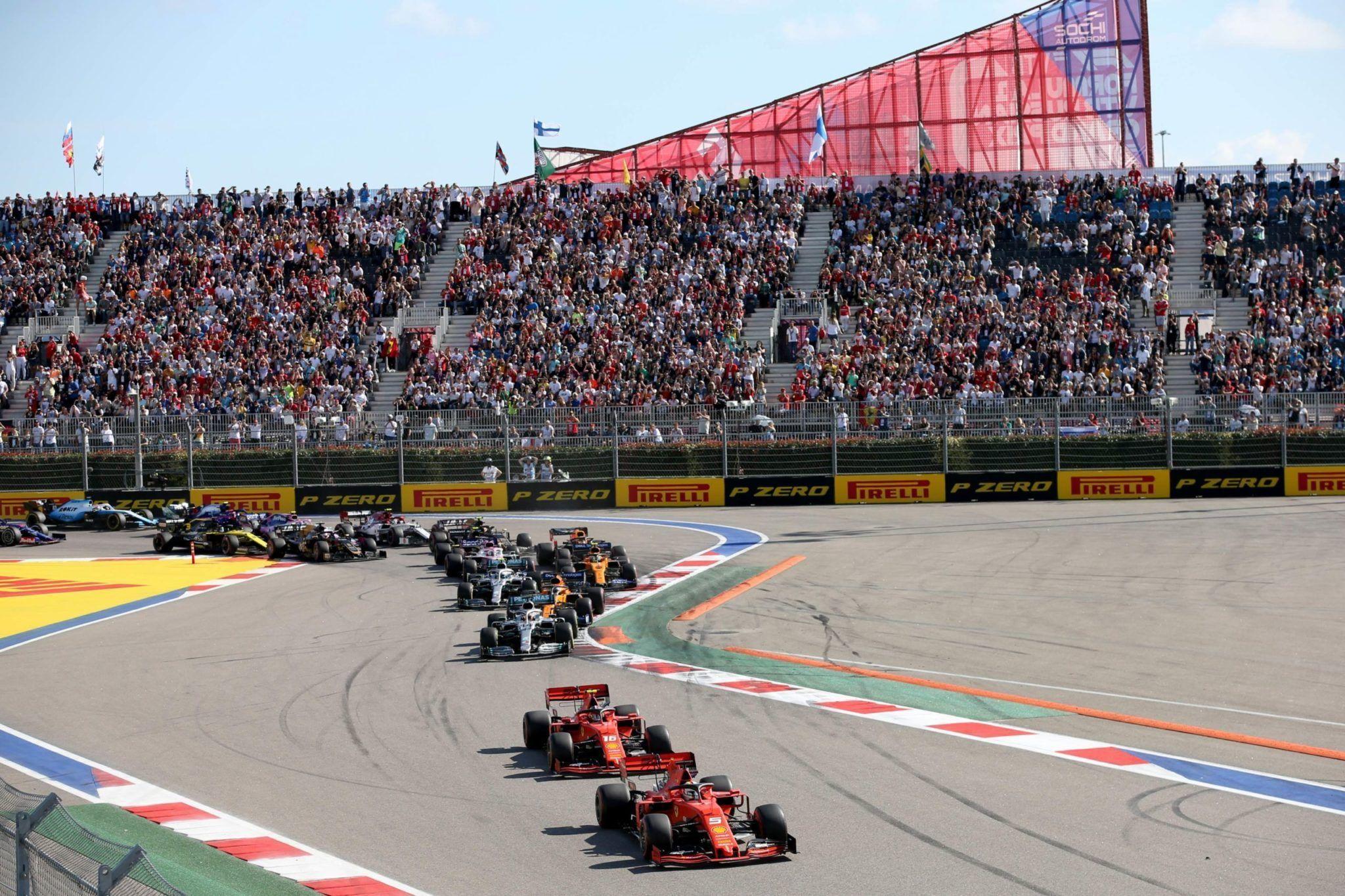 Russian GP, F1