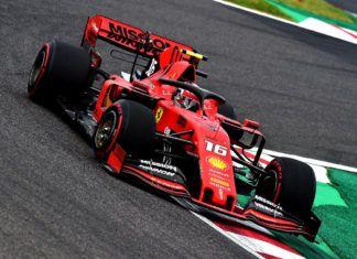 Mattia Binotto, Sebastian Vettel, Charles Leclerc