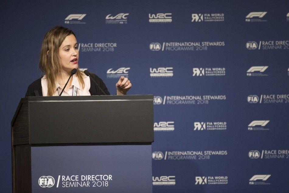 Silvia Bellot, FIA