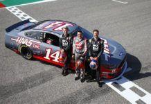 Tony Stewart, Kevin Magnussen, Romain Grosjean