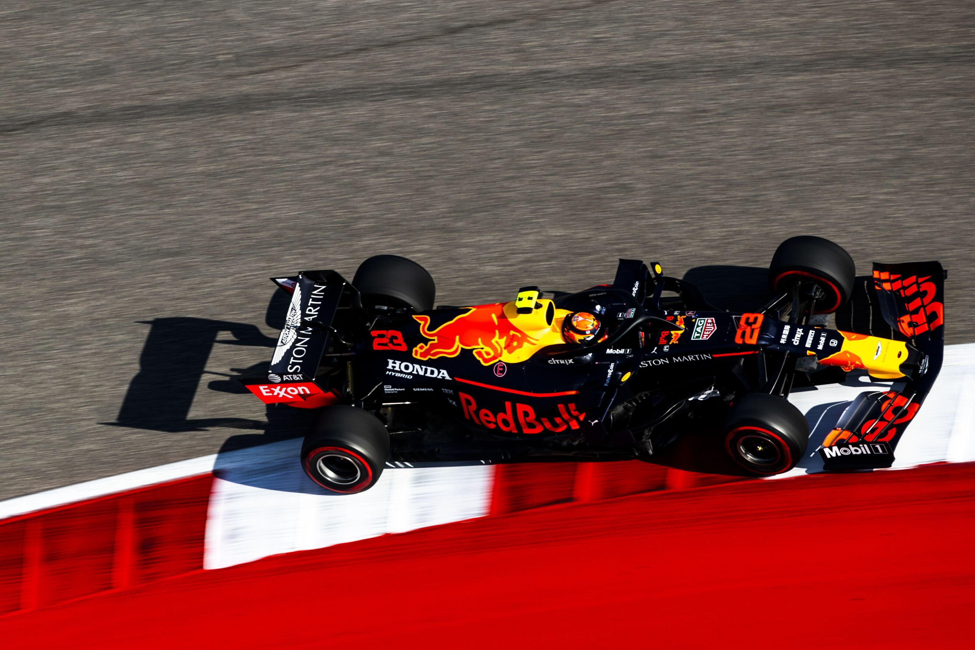 Red Bull, Christian Horner, Alexander Albon