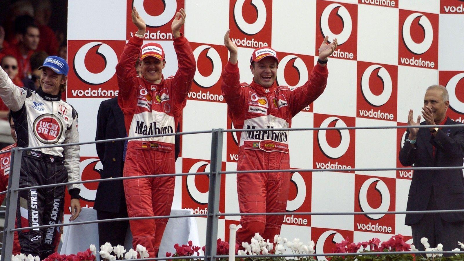 Rubens Barrichello, F1