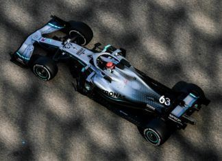 George Russell, Mercedes, F1
