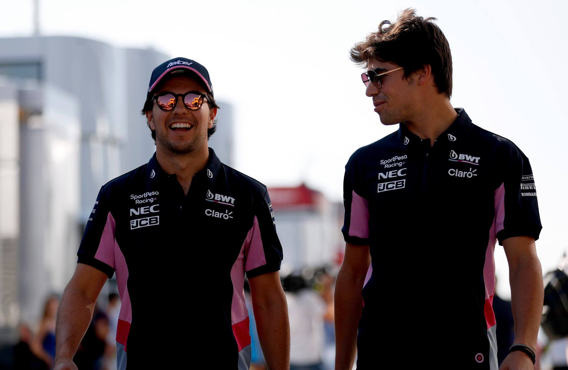 Racing Point, Lance Stroll's, Sergio Perez