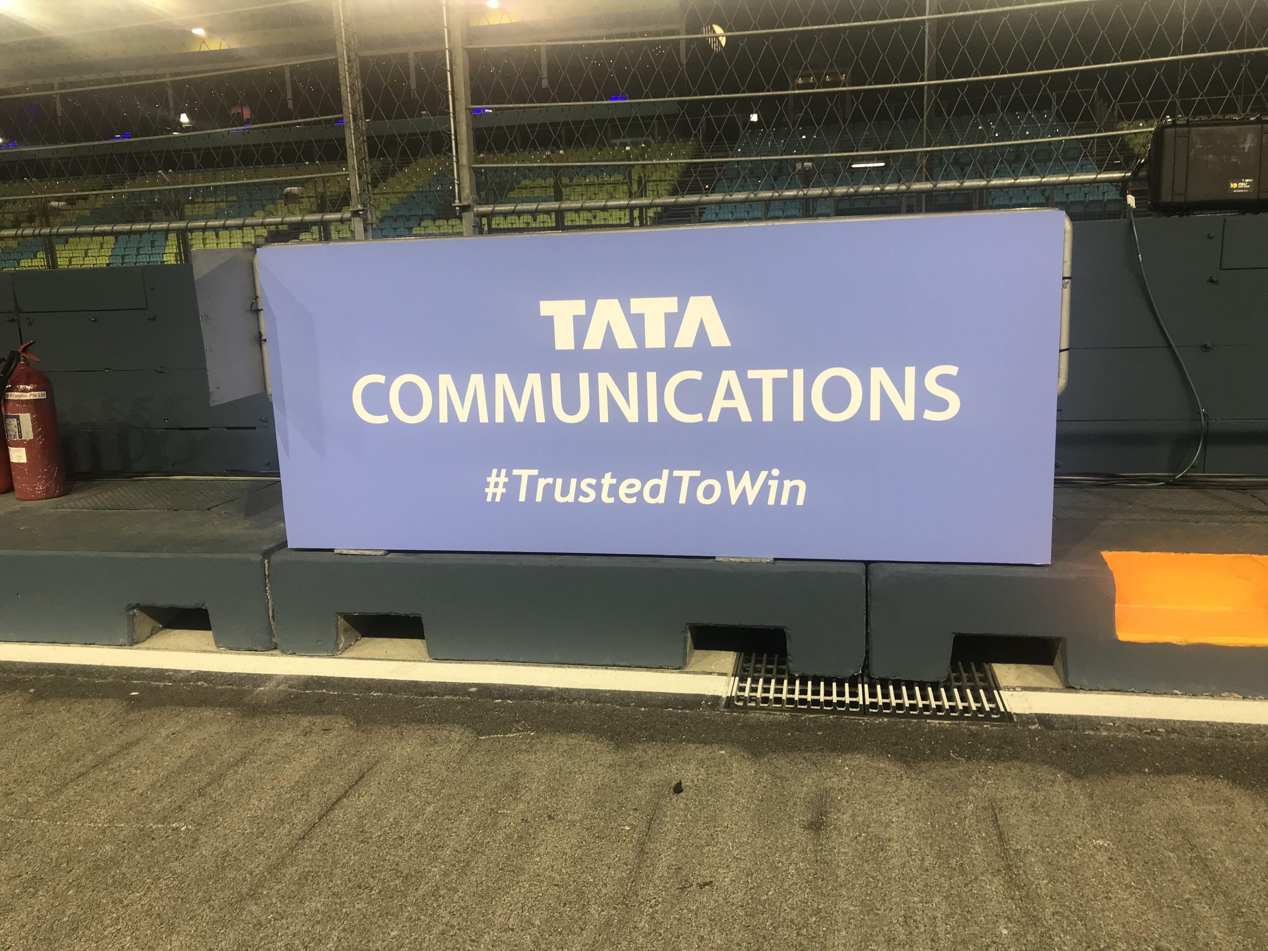 Tata Communications, F1