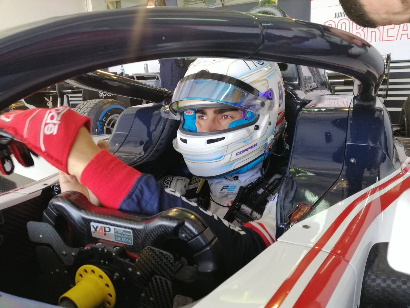 Juan Manuel Correa, FIA