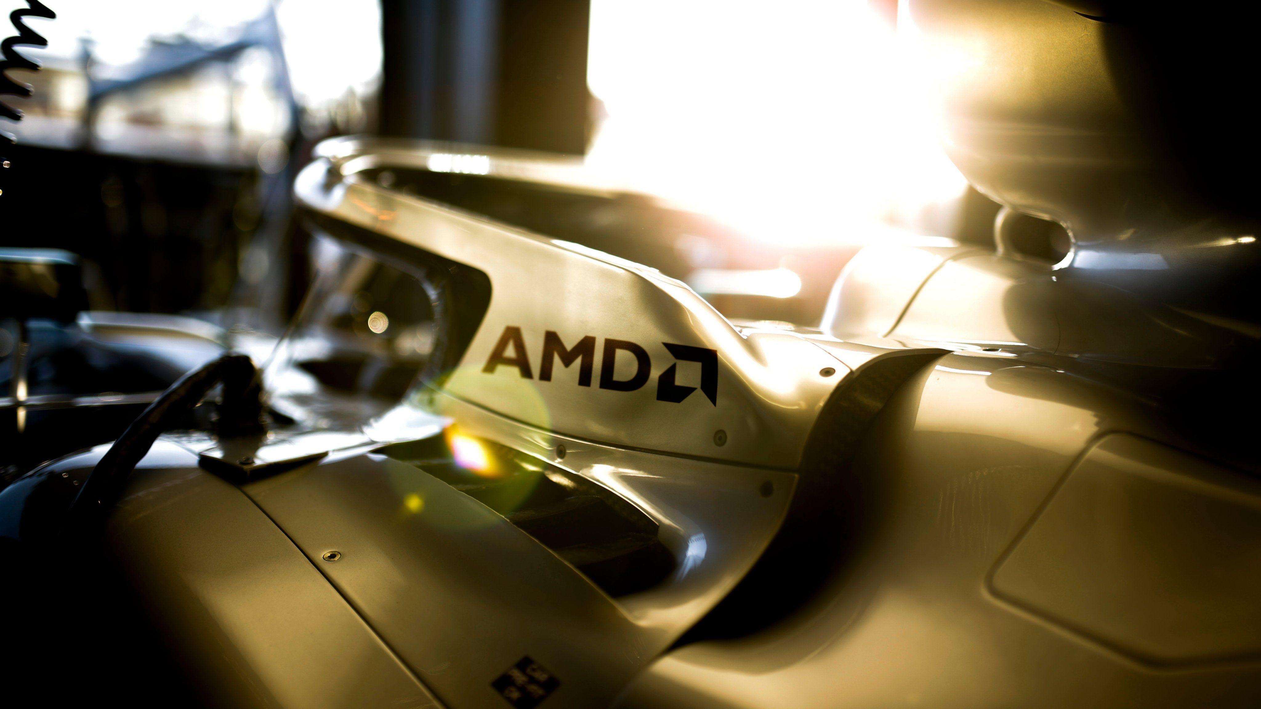 Mercedes, AMD
