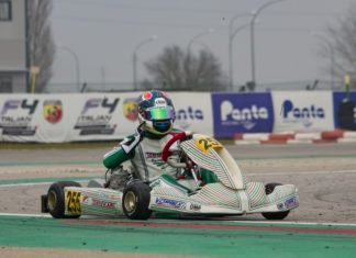 Pedro Hiltbrand winner in WSK Super Master Series