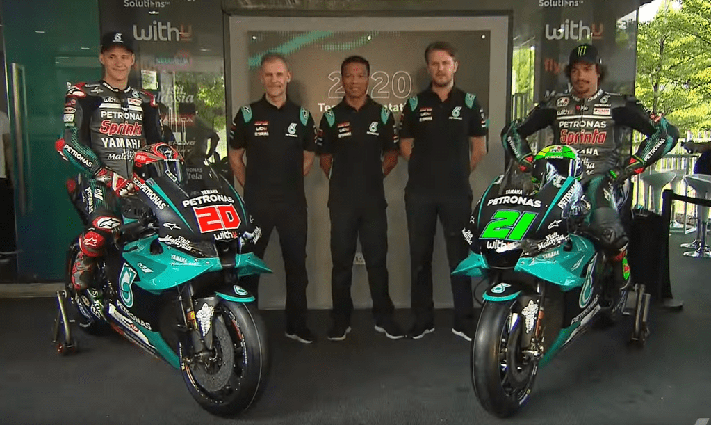 Petronas Srt Showcases 2020 Motogp Livery In One More Sepang Launch