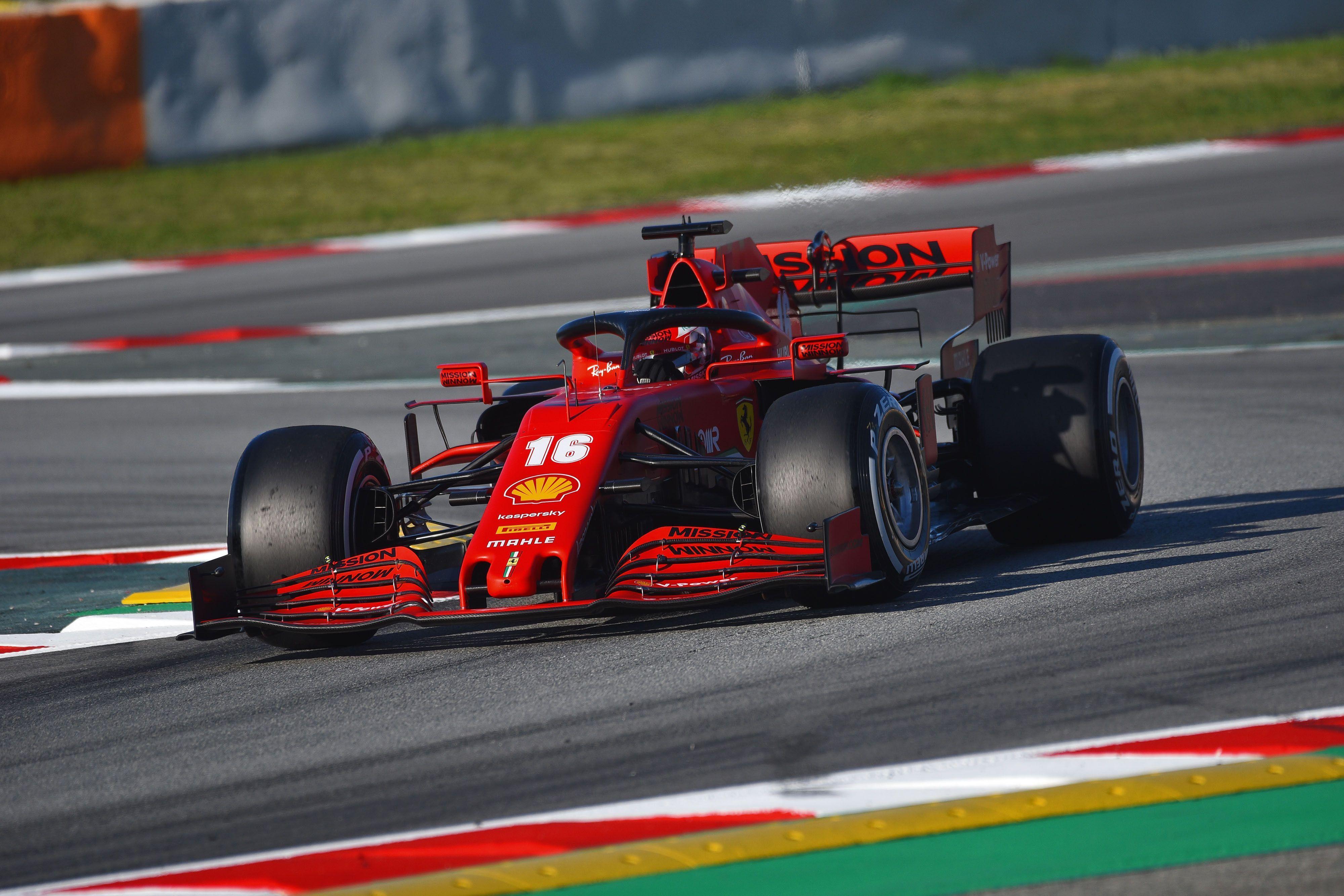 Leclerc Says Ferrari Sf1000 Quicker Around Corners For F1 2020 Than 2019