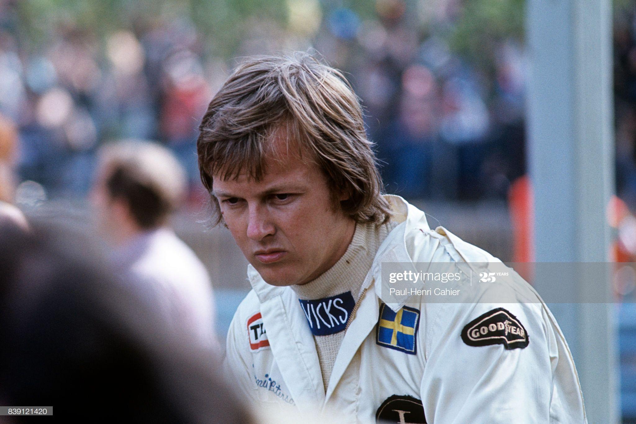 Ronnie Peterson, F1, Almby