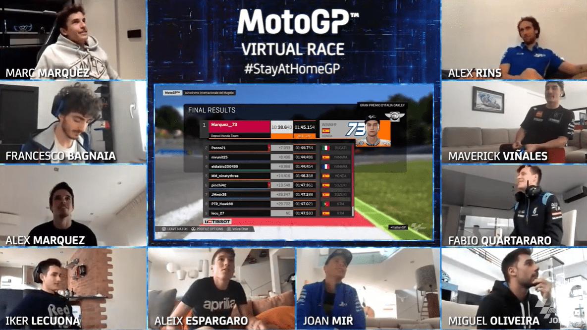 Alex Marquez, MotoGP Virtual Race