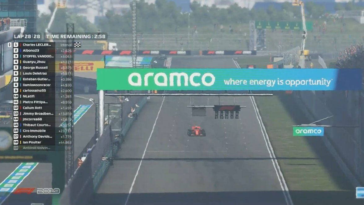 Charles Leclerc, F1, Virtual GP